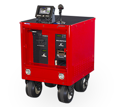 enclosed destruction cart with nsa css epl listed products