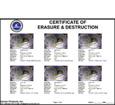 spacesaver certificate 230