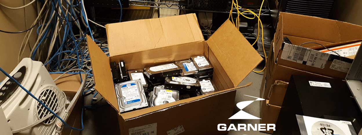 garner degaussing hdd hires
