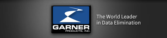 Garner Products | World Leader in Data Destruction Products