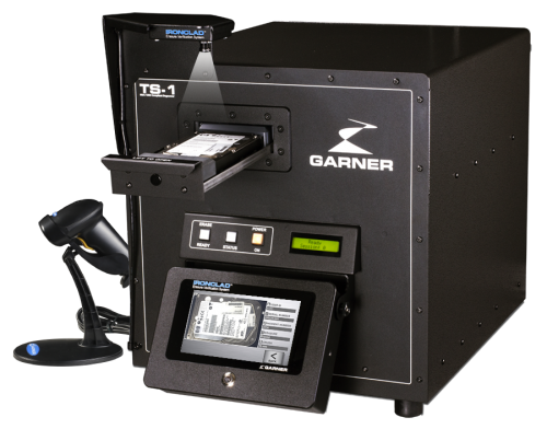 Hard Drive & Tape Degausser | Erasure and Destruction Verification System